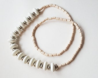 "Aarikka Wood Bead  ""Espa"" Necklace, 1985 (F1151A)"
