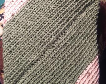 Handmade crochet hot pad