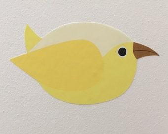 Bird Wall Sticker, Bird Wall Decal, Bird Sticker, Bird Mural, Colorful Bird, Bird Wall Art, Nursery Wall Sticker, Nursery Wall Decal, Bird