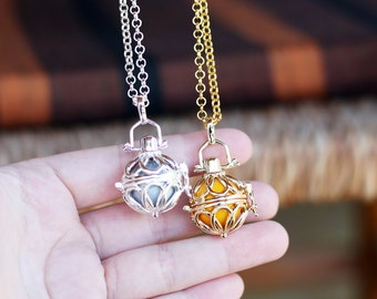 Maternity Pregnancy Angel caller necklace Harmony ball MARGARITE chime ball
