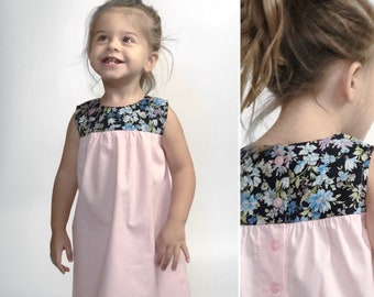 Penny dress in pale pink
