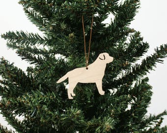 Labrador-Ornament   Holz Ornament   Urlaub Dekoration   Labrador   Urlaub Ornament   Christmas Ornament   Wohnkultur   Hund   Hergestellt in Maine