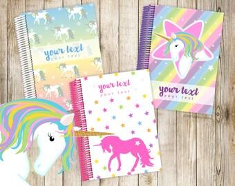 My Fancypants Notebook: Stella Unicorn collection (Handmade personalised notebook)