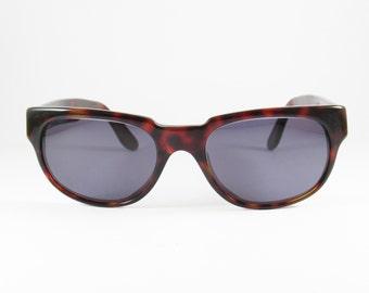 Vintage Sunglasses, Avant Garde, 70s, Wayfarer Sunglasses, Tortoise Sunglasses, made in Italy, Womens Sunglasses, Gift for Her, Sunglasses