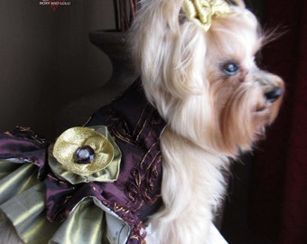 Sugar Plum Fairy Couture Dog Harness Dress