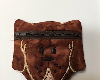 Dog coin purse
