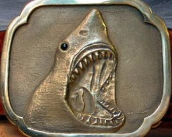 Jaws Shark Belt Buckle