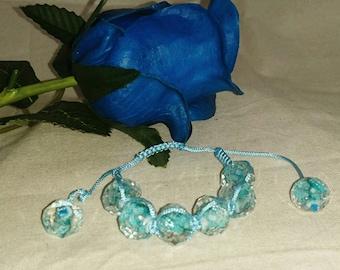 Ice Queen - Woven Bracelet
