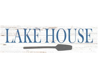 Lake House Sign-Lake Wall Sign