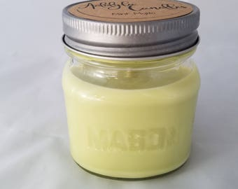 Mint Mojito Candle 8oz mason jar soy candle