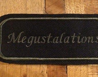 Megustalations iron on patch
