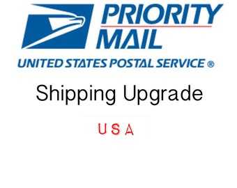 Upgrading to Priority Shipping Domestic USA ONLY,