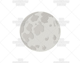 Moon embroidery, Moon designs, Machine embroidery, Moon crafts, craft supplies, embroidery supplies, lunar crafts, lunar embroidery