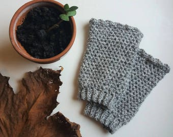 Stonewashed Cuffs - Cotton Wrist Warmers - Ready to Ship