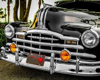 Pontiac Straight-8 Silver Streak Car Photography, Automotive, Auto Dealer, Classic, Sports Car, Mechanic, Boys Room, Garage, Dealership Art