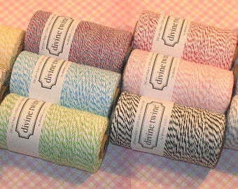 Divine Twine - All 12 Colors - 10 Yds Each  (120 Yds)