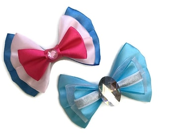 Cinderella Disney Inspired Fairy Godmother & Cinderella Hair Bows