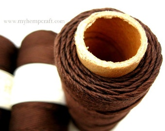 Brown Bamboo Cord, 1mm 205ft Craft Cord