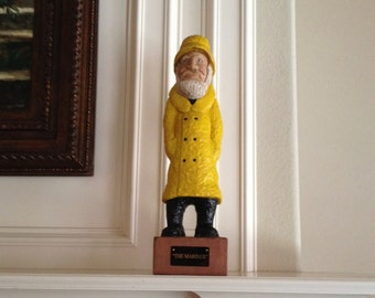"""Large 21"""" Collectible Mariner Wood Carving for Any Nautical Display.  Perfect for Mantel, Den, Man Cave or Office, Cabin. FREE SHIPPING!!"""