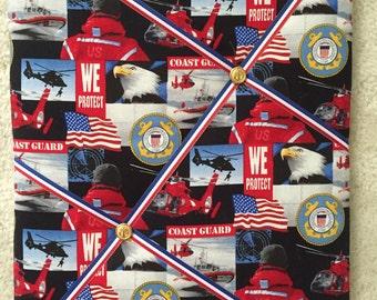 Coast Guard Memory Board, Military photo board