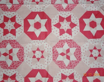 "1 Yard Country Star Printed Cotton Fabric - Approx. 44"" wide"