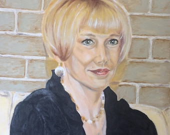 Custom Oil Portrait Custom Portraits Oil Painting Oil Portrait Painting From Photo