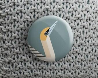 button met Jan Van Gent (pin / magneet / spiegel)