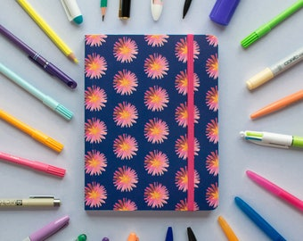 A5 Chunky Notebook, Soft Cover, 240 Lined Pages
