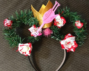 Painting the Roses Red Queen of Hearts Wonderland Inspired Disney Ears Headband