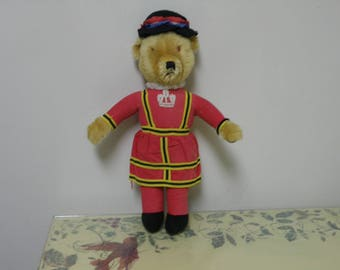 "19"" Merrythought Ironbridge Shrops antique bear"