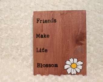 Inspiration Quote Plaque