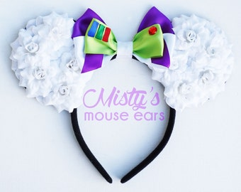 Inspired Buzz Lightyear Toy Story Rose Mouse Ears