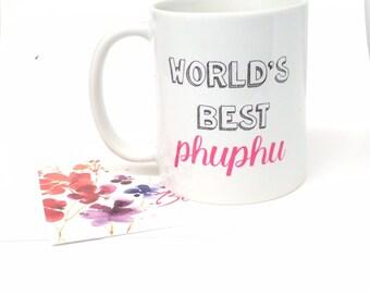 World's best Khala phuphu, best baba, best mama gift