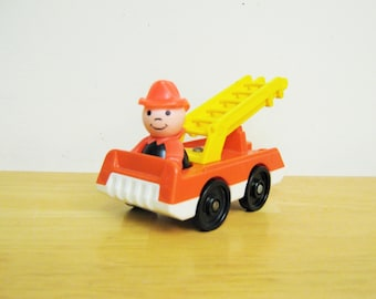 Fisher Price Fire Truck with Fireman