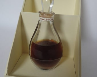 Vintage Halston 14ml Pure Parfum, 1975