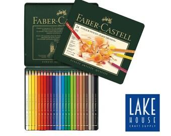 Polychromos Colored Pencil Set. 24 Color Pencils by Faber-Castell