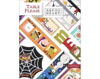Table Please Part Two Art To Heart Book Projects for Halloween, Fall, Winter
