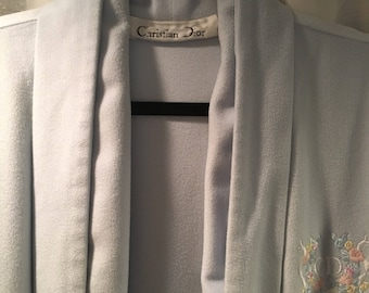 Soft 80s Christian Dior Robe