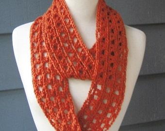 PATTERN S-017 / Crochet Pattern / Annalyse Infinity ... worsted 200 yards