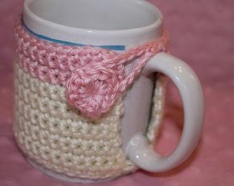 Heart Coffee Mug Cozy