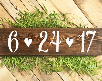 Save the date sign etsy