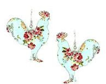 Chicken Floral Earrings
