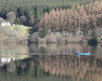 Tranquility on Lake Vyrnwy, Wales