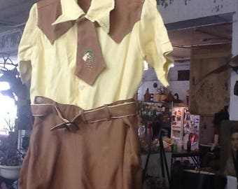 Vintage 1930's Peter Piper Western Outfit