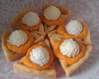 Kuchen Stück Torte schmilzt, Soja-Wachs-Torten, wärmer Kerzenwachs, Urlaub schmilzt, Herbst Herbst Düfte, Dessert-Kerzen, Geschenke für Mama, Bäckerei Düfte