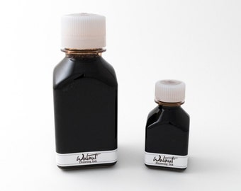 Tom Norton walnut ink (for calligraphy and drawing with dip pen or brush), 70 mL