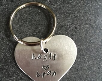 Love You Couple Keychain