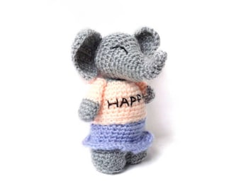 Amigurumi Pattern Elephant - Crochet - Allegra