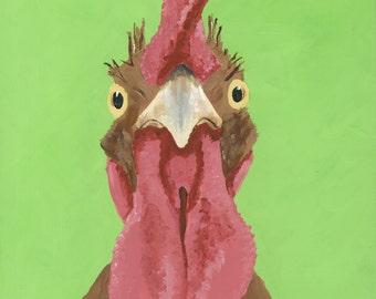 """Rooster Print Instant Download """"Sarge I"""""""