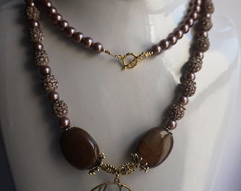 Chocolate Gold Necklace
